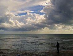Pescatore solitario Magunuco, Modica - Sicilia