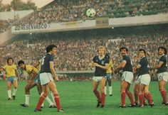 Brazil 4 Scotland 1 in 1982 in Seville. Zico equalises with a brilliant free kick on 33 mins in Group 6 #WorldCupFinals