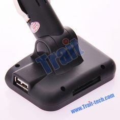 "1.8"" LCD Car MP3 MP4 Player Wireless FM Transmitter"