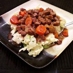 ... food! Beer Braised Irish Stew and Colcannon Recipe - Allrecipes.com
