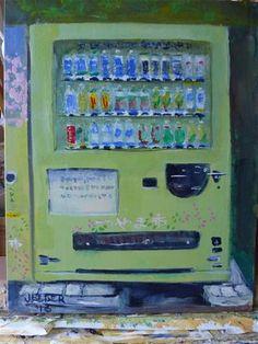"""Daily+Paintworks+-+""""Thirsty""""+-+Original+Fine+Art+for+Sale+-+©+Judith+Elder"""