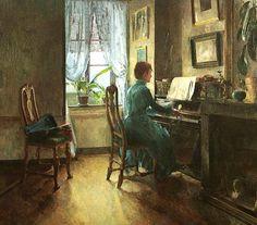 Harriet Backer (1845-1932), noruega.