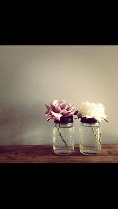 Love recycling jars :-)