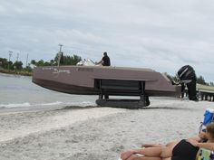 Imagine This Rare Boat Pulling Up On The Beach Next To You (VIDEO)