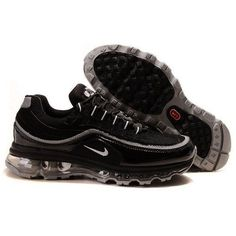 best sneakers 23b12 1df38 Most Wanted Nike Air Max 247 Black  Metallic Silver - Black Men Shoes
