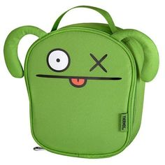 Ugly Doll Insulated Kids Lunch Bag - Green by Thermos. $17.99. Use it to take a healthy lunch to school. Made from durable fabric. Reduce waste and save money by packing your child's lunch in this reusable lunch bag.. Kids lunch bag. Novelty lunch bag, green, unique shape.