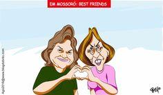Em Mossoró: Best friends