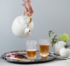 Kähler Design Hammershøi Teekanne 1,2 l