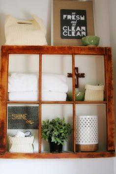 Craftivity Designs: Build a Window Frame Shelf