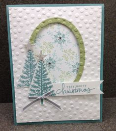 Stampin Up Festival of Trees & Endless Wishes