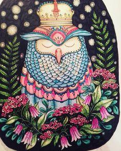 #dagdrömmar #hannakarlzon #coloringbook #colorindomeujardimencantado #wonderfulcoloring #arte_e_colorir #coloringmasterpiece #colouring #adultcoloringbook #coloringforadults #giotto #markers #polychromos #spectrumnoir #divasdasartes #colorindolivrostop