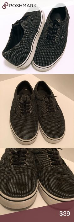 1562781e8cf03d rare VANS Off The Wall Shoes Knit Micro Plaid TB9C rare VANS Off The Wall  Shoes