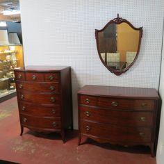 Sold Vintage Antique 3 Piece Mahogany Bedroom Set Circa 1940 The Set Includes
