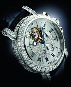 luxury Watch – Breguet Marine Tourbillon 5839 High Jewellery Chronograph