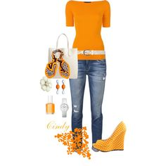 A fashion look from February 2013 featuring Ralph Lauren Black Label t-shirts, Joe's Jeans jeans and Michael Antonio pumps. Browse and shop related looks.