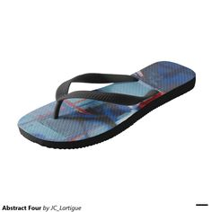 Abstract Four Flip Flops