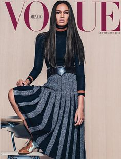 Joan Smalls Covers Vogue Mexico September 2015