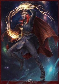 Dr. Strange fan art