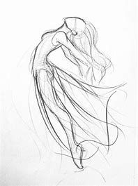 43 best dancer drawing images in 2018 Ballet Drawings, Dancing Drawings, Pencil Art Drawings, Easy Drawings, Drawing Sketches, Sketching, Dancing Sketch, Anatomy Sketches, Body Sketches