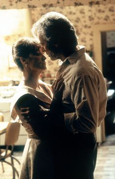 """""""If you want me to stop, tell me now."""" """"No one's asking you to."""" #TheBridgesofMadisonCounty #MerylStreep #ClintEastwood"""