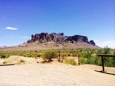 Superstition Mountains, the tour guide had a fantastic story about this.