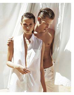 dualismi: carly engleton by andrea gandini for io donna 27th april 2013 | visual optimism; fashion editorials, shows, campaigns & more!