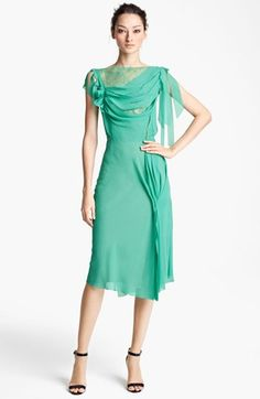 Nina Ricci Drape Front Dress available at #Nordstrom