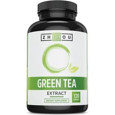Green Tea Extract Supplement with EGCG for Weight Loss – Boost Metabolism & Promote a Healthy Heart – Natural Caffeine Source for Gentle Energy – Antioxidant & Free Radical Scavenger – 120 Capsules