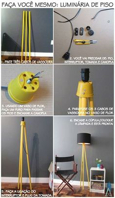 New diy lamp makeover ideas home decor Ideas - All For Decoration Home Crafts, Diy Home Decor, Room Decor, Diy Luz, Luminaria Diy, Lamp Makeover, Creation Deco, Ideias Diy, Living Room Flooring