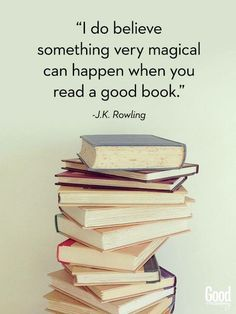 Book Quotes J. Rowling, Harry Potter one of my favorites Literature is life I Love Books, Books To Read, My Books, Free Books, Book Of Life, The Book, Picture Of A Book, Wonderful Picture, Quotes For Book Lovers