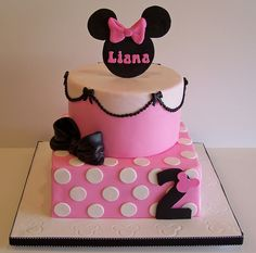 Minnie Mouse Cake by cakespace - Beth (Chantilly Cake Designs), via Flickr