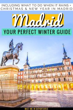 Visiting Madrid in Winter | Visit Madrid | Spain Travel | Why you need to add Madrid to your Spain Itinerary | Spanish Capital | Madrid Itinerary | Short vacation to Madrid | Europe in Winter | Things to do in Madrid | Things to see in Madrid | Madrid in 2 Days | Weekend in Madrid | Winter in Madrid | Christmas in Madrid | New Years in Madrid | What to do in Madrid when it rains | Madrid Bucketlist | The best things to see in winter in Madrid | #EuropeWinter #Madrid #Spain #VisitSpain Visit Madrid, Madrid City, Short Vacation, Winter Things, Spain Travel, Travel Europe, Travel Reviews, Winter Travel, European Travel