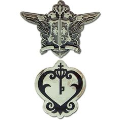 Black Butler Pin Set ** Want to know more, click on the image. (This is an affiliate link) #ActionFiguresStatues