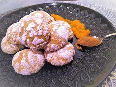 Úžasné tekvicové crinkles Crinkles, Ale, Nom Nom, Muffin, Treats, Breakfast, Sweet, Food, Basket