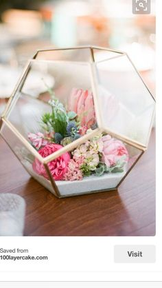 Centerpiece idea for Jessica's wedding