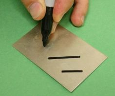 Hot Stuff: Annealing made easy with a Sharpie - Originally published in the MJSA Journal10/09