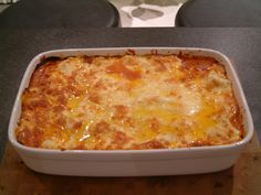 Baked Minced Chicken Lasagne