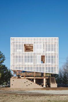 Nest We Grow , Taiki, 2014 - UC Berkeley College of Environmental Design, Kengo Kuma and associates