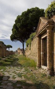 Ostia Antica, Rome...
