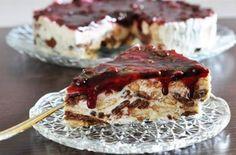 Party Desserts, Frozen Desserts, Fruit Pie, Yams, Sweet Recipes, Tiramisu, Food To Make, French Toast, Cheesecake