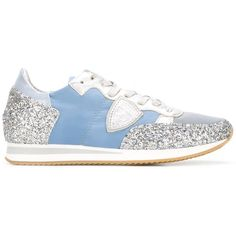Philippe Model glitter sneakers (775.120 COP) ❤ liked on Polyvore featuring shoes, sneakers, blue, glitter shoes, blue glitter shoes, blue sneakers, blue shoes and glitter sneakers