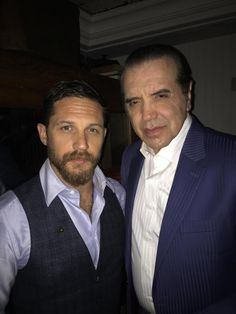 Tom Hardy and Chazz Palminteri - TIFF | Legend Premiere  Toronto, Canada - September 12, 2015.