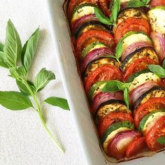 Oven Baked Ratatouille Tian, a delightful dish that is vegan, gluten free and so healthy. A favourite with kids, Ratatouille is a great side dish.