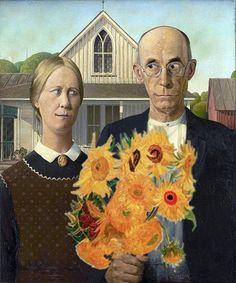 American Gothic Happy Valentine's Day