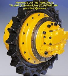 Moteur de chenille, motoreducteur pelle Moteur de chenille, moteur de traction, motoreducteur, moteur de translation, planetaire pour toute pelle prix euro 800 et plus pennings vof pays bas tel (0031)622492445 Traction, Chenille, Netherlands, Euro, Engine, Dutch Netherlands, Holland, The Netherlands