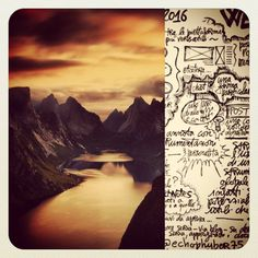 #writing #landscape #sketchnote #ink #draw #lomography #visual