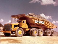 Boss Hogg.Western Contracting's 750hp 150 ton Euclid hauler