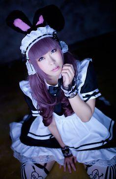 mashiro(真白) Original maid Cosplay Photo - Cure WorldCosplay