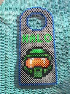 Halo Perler Bead Door Hanger by angelferret
