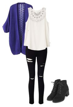 """""""School Casual"""" by rachelsong1848 on Polyvore featuring Miss Selfridge, RVCA and Topshop"""